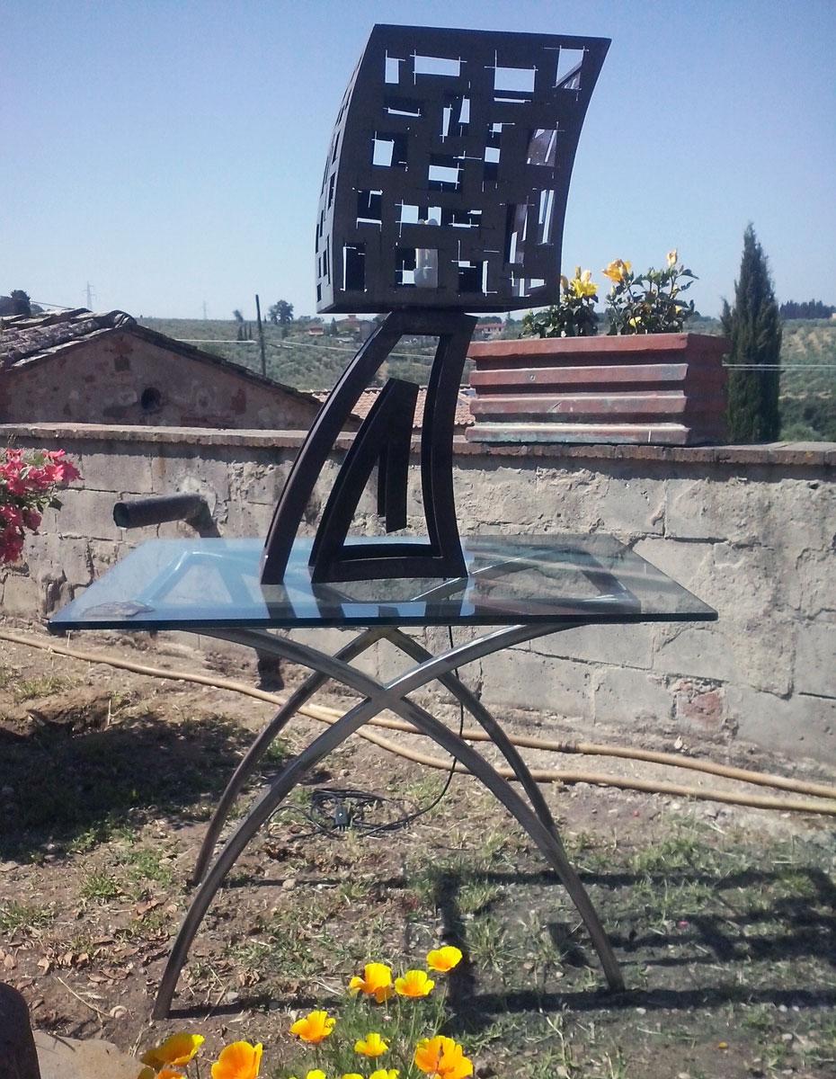 Paolo Fusi arredamento in ferro Sambuca - Tavarnelle Val di Pesa