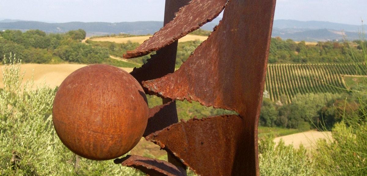 sculture in ferro paolo fusi