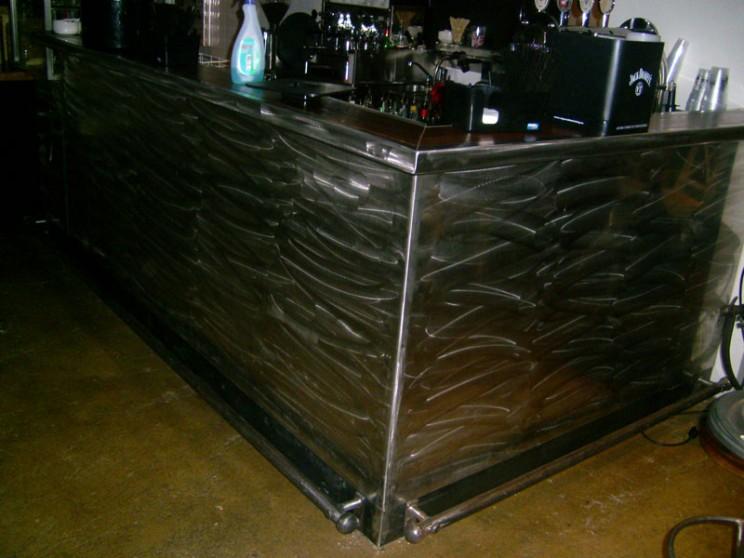 rivestimenti in corten, alluminio, ferro, acciaio inox e rame